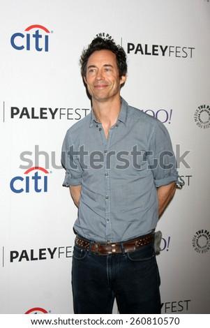 LOS ANGELES - MAR 14:  Tom Cavanagh at the PaleyFEST LA 2015 - \