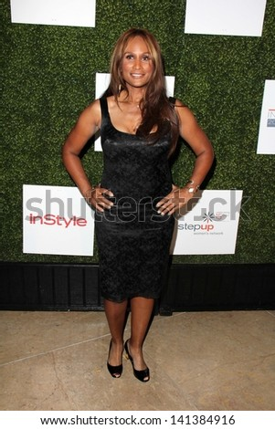LOS ANGELES - MAY 31:  Beverly Johnson arrives at the 10th Annual Inspiration Awards Luncheon at the Beverly Hilton Hotel on May 31, 2013 in Beverly Hills, CA
