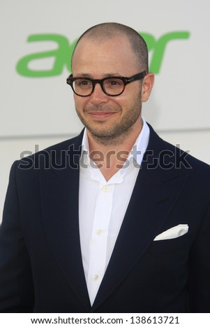 LOS ANGELES - MAY 14: Damon Lindelof at the Los Angeles Premiere of Star Trek Into Darkness at the Dolby Theater on May 14, 2013 in Hollywood, Los Angeles, California