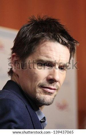 LOS ANGELES - MAY 21: Ethan Hawke at the premiere of Sony Pictures Classics' 'Before Midnight' at the Directors Guild of America on May 21, 2013 in Los Angeles, California