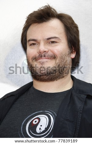 LOS ANGELES - MAY 22:  Jack Black at the premiere of Kung Fu Panda 2 at the Grauman's Chinese Theater in Los Angeles, California on May 22, 2011.