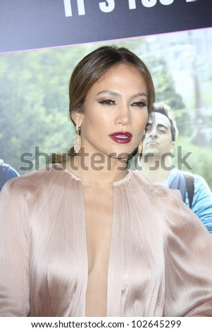 LOS ANGELES - MAY 14: Jennifer Lopez at the premiere of 'What To Expect When You're Expecting' held at Grauman's Chinese Theater on May 14, 2012  in Los Angeles, California