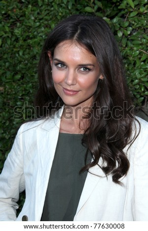 LOS ANGELES - MAY 19:  Katie Holmes arriving at the Opening Night of the Beauty Culture Exhibit at The Annenberg Space For Photography on May 19, 2011 in Century City, CA