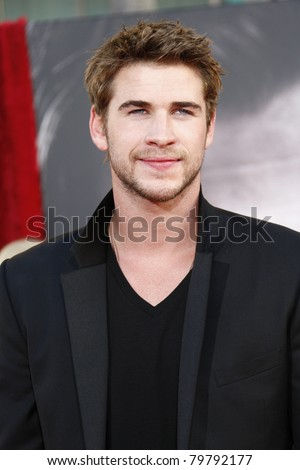 LOS ANGELES - MAY 2:  Liam Hemsworth at the premiere of Thor at the El Capitan Theater, Los Angeles, California on May 2, 2011.