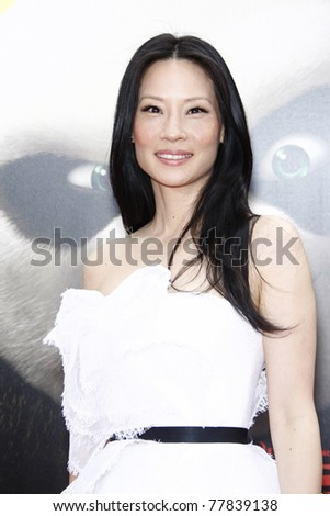 LOS ANGELES - MAY 22:  Lucy Liu at the premiere of Kung Fu Panda 2 at the Grauman's Chinese Theater in Los Angeles, California on May 22, 2011.