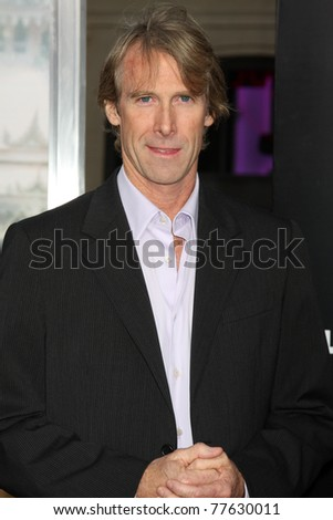 """LOS ANGELES - MAY 19:  Michael Bay arriving at the """"The Hangover Part II""""  Premiere at Grauman's Chinese Theater on May 19, 2011 in Los Angeles, CA"""