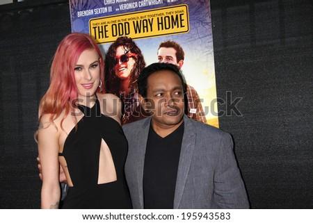 LOS ANGELES - MAY 30:  Rumer Willis, Rajeev Nirmalakhandan at the \