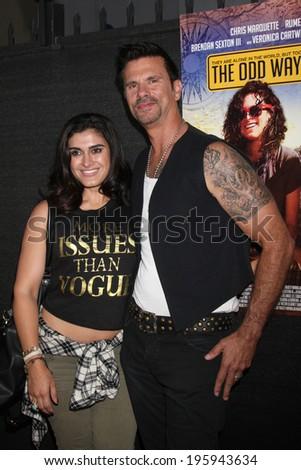 LOS ANGELES - MAY 30:  Shawna Craig, Lorenzo Lamas at the \