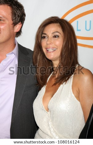 LOS ANGELES - MAY 12:  Teri Hatcher arriving at the 11th Annual Lupus LA Orange Ball at Beverly Wilshire Hotel on May 12, 2011 in Beverly Hills, CA - stock photo