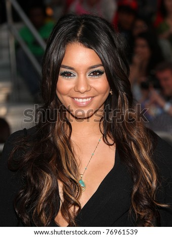 """LOS ANGELES - MAY 07:  Vanessa Hudgens arrives to the """"Pirates of the Caribbean: On Stranger Tides"""" World Premiere  on May 7, 2011 in Anaheim, CA"""