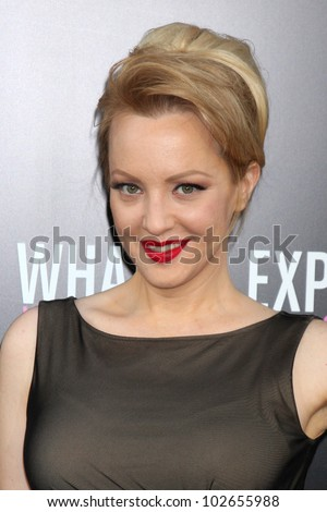 "LOS ANGELES - MAY 14:  Wendi McLendon-Covey arrives at the ""What To Expect When You're Expecting"" Premiere at Graumans Chinese Theater on May 14, 2012 in Los Angeles, CA"