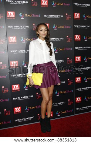 LOS ANGELES - NOV 7: Ashley Madekwe at the TV Guide Magazine Hot List Party held at the Greystone Manor on November 7, 2011 in Los Angeles, California