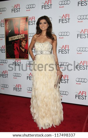 LOS ANGELES - NOV 1: Blanca Blanco at the premiere of 'Hitchcock' during AFI Fest 2012 at Grauman's Chinese Theater on November 1, 2012 in Los Angeles, California