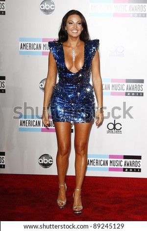 LOS ANGELES - NOV 20: Bleona Qereti at the 2011 American Music Awards held at Nokia Theatre L.A. Live on November 20, 2011 in Los Angeles, California