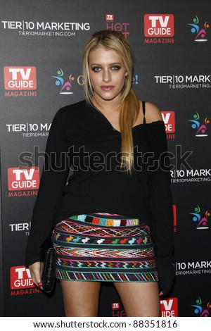 LOS ANGELES - NOV 7: Carly Chaikin at the TV Guide Magazine Hot List Party held at the Greystone Manor on November 7, 2011 in Los Angeles, California