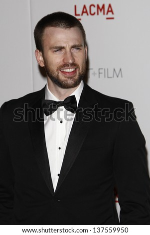 LOS ANGELES - NOV 5: Chris Evans at the LACMA Art + Film Gala on November 5, 2011 in Los Angeles, California
