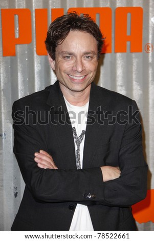 LOS ANGELES - NOV 11: Chris Kattan at PUMA Presents The African Bazaar Party in Los Angeles, California on November 11, 2009. - stock photo