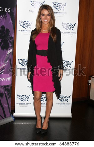 """LOS ANGELES - NOV 10:  Chrishell Stause arrives at the """"Rescue Paws"""" Traveling Exhibit at W Los Angeles - Westwood on November 10, 2010 in Los Angeles, CA"""