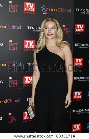 LOS ANGELES - NOV 7: Elisha Cuthbert at the TV Guide Magazine Hot List Party held at the Greystone Manor on November 7, 2011 in Los Angeles, California
