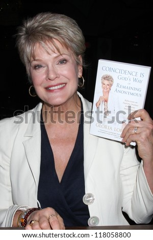 "LOS ANGELES - NOV 4: Gloria Loring at the book launch party for Gloria Loring's book ""Coincidence is God's Way of Remaining Annonymous"" at Rockwell Table & Stage on November 4, 2012 in Los Angeles, CA"