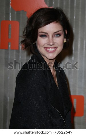 LOS ANGELES - NOV 11: Jessica Stroup at PUMA Presents The African Bazaar Party in Los Angeles, California on November 11, 2009.