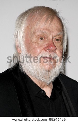 LOS ANGELES - NOV 5:  John Baldessari arrives at the LACMA Art + Film Gala at LA County Museum of Art on November 5, 2011 in Los Angeles, CA