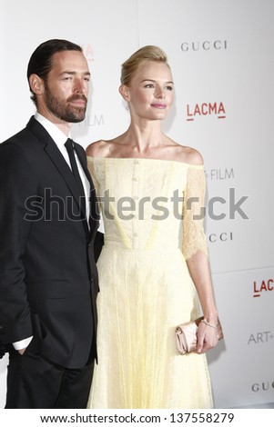 LOS ANGELES - NOV 5: Kate Bosworth; Michael Polish at the LACMA Art + Film Gala on November 5, 2011 in Los Angeles, California