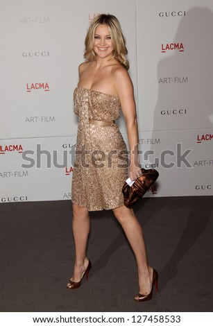 LOS ANGELES - NOV 5:  KATE HUDSON arriving to LACMA hosts Art + Film Gala 2011  on November 5, 2011 in Los Angeles, CA