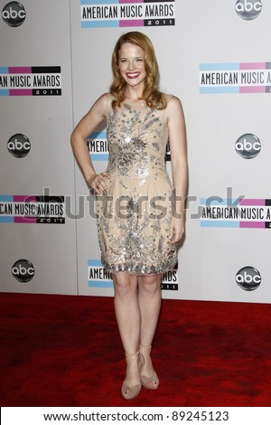 LOS ANGELES - NOV 20: Katie Leclerc at the 2011 American Music Awards held at Nokia Theatre L.A. Live on November 20, 2011 in Los Angeles, California