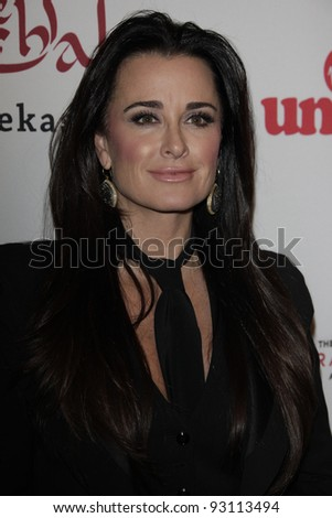 LOS ANGELES - NOV 16: Kyle Richards at the 5th annual 'Rock the Kasbah' in support of Virgin Unite and the Eve Branson Foundation on November 16, 2011 in Los Angeles, California