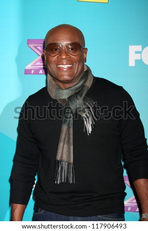 LOS ANGELES - NOV 5:  LA Reid arrives at the X-Factor Season Two FInalist Party at SLS Hotel at Beverly Hills on November 5, 2012 in Los Angeles, CA