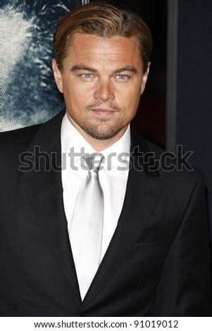LOS ANGELES - NOV 3: Leonardo DiCaprio at the AFI Fest 2011 Opening Night Gala World Premiere of 'J. Edgar' at Grauman's Chinese Theater on November 3, 2011 in Los Angeles, California