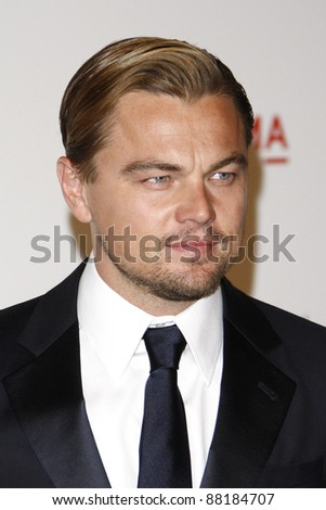 LOS ANGELES - NOV 5: Leonardo DiCaprio at the LACMA Art + Film Gala on November 5, 2011 in Los Angeles, California