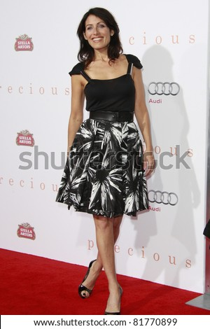 LOS ANGELES - NOV 1: Lisa Edelstein at the screening of \'Precious: Based On The Novel \'PUSH\' By Sapphire\' during AFI FEST 2009 in Los Angeles, California on November 1, 2009