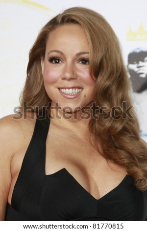 LOS ANGELES - NOV 1: Mariah Carey  at the screening of 'Precious: Based On The Novel 'PUSH' By Sapphire' during AFI FEST 2009 in Los Angeles, California on November 1, 2009 - stock photo