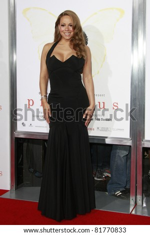 LOS ANGELES - NOV 1: Mariah Carey  at the screening of \'Precious: Based On The Novel \'PUSH\' By Sapphire\' during AFI FEST 2009 in Los Angeles, California on November 1, 2009