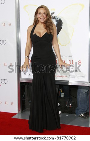 LOS ANGELES - NOV 1: Mariah Carey  at the screening of \'Precious: Based On The Novel \'PUSH\' By Sapphire\' during AFI FEST 2009 at the Grauman\'s Chinese Theatre in Los Angeles, CA on November 1, 2009