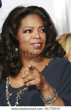 LOS ANGELES - NOV 1: Oprah Winfrey at the screening of \'Precious: Based On The Novel \'PUSH\' By Sapphire\' during AFI FEST 2009 in Los Angeles, California on November 1, 2009