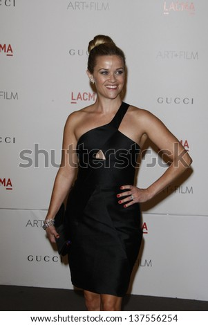 LOS ANGELES - NOV 5: Reese Witherspoon at the LACMA Art + Film Gala on November 5, 2011 in Los Angeles, California