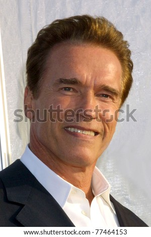 LOS ANGELES - OCT 25:  Arnold Schwarzenegger arriving at the Dream Halloween Benefit 2003 at Barker Hanger on October 25, 2003 in Santa Monica, CA