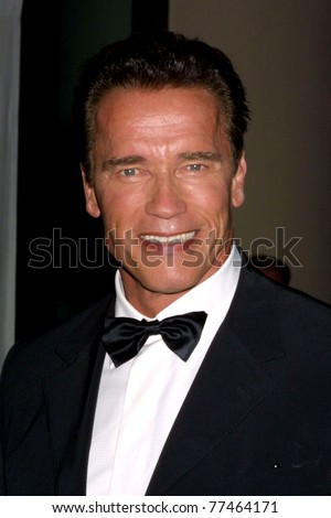 LOS ANGELES - OCT 7:  Arnold Schwarzenegger arriving at the Hollywood Film Festival at Beverly Hills Hotel on October 7, 2002 in Beverly Hills, CA