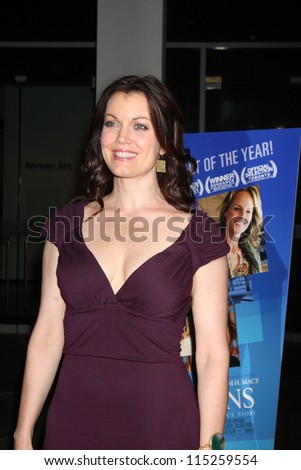"""LOS ANGELES - OCT 10:  Bellamy Young arrives at the """"The Sessions"""" Los Angeles Premiere at Bing Theater at Los Angeles Museum of Art on October 10, 2012 in Los Angeles, CA"""
