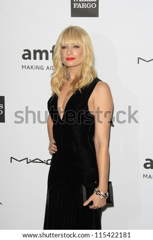 LOS ANGELES - OCT 11: Beth Behrs at amfAR's Inspiration Gala at Milk Studios on October 11, 2012 in Los Angeles, California.