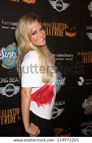 LOS ANGELES - OCT 7:  Bridget Marquardt arrives at the 4th Annual Los Angeles Haunted Hayride VIP Premiere Night at Griffith Park on October 7, 2012 in Los Angeles, CA