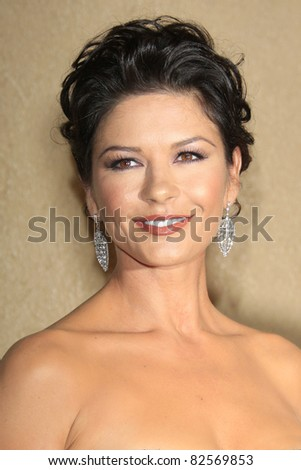 "LOS ANGELES - OCT 20: Catherine Zeta Jones at the third annual ""A Fine Romance""  at Sony Studios in Culver City, Los Angeles, California on October 20, 2007"