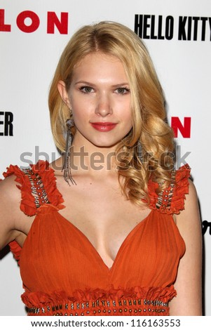 LOS ANGELES - OCT 15:  Claudia Lee arrives at  Nylon's October IT Issue party at London West Hollywood on October 15, 2012 in Los Angeles, CA