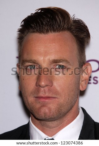 LOS ANGELES - OCT 24:  EWAN McGREGOR arriving to 15th Annual Hollywood Film Awards Gala  on October 24, 2011 in Beverly Hills, CA