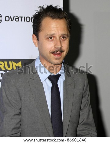 """LOS ANGELES - OCT 13:  Giovanni Ribisi  arriving at the World Premiere of """"The Rum Diary"""" at the LACMA on October 13, 2011 in Los Angeles, CA"""