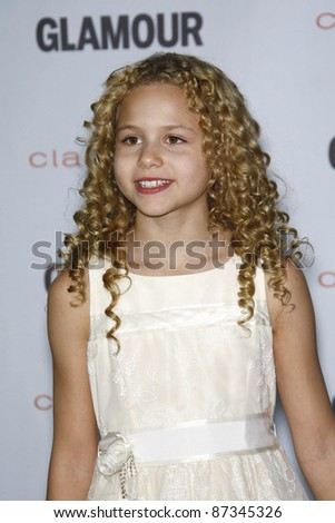 LOS ANGELES - OCT 24: Isabella Acres at the 2011 Glamour Reel Moments premiere presented by Clarisonic held at the Directors Guild Of America on October 24, 2011 in West Hollywood, California