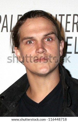 LOS ANGELES - OCT 22:  Jason Mewes arrives at  the Paley Center for Media Annual Los Angeles Benefit at The Lot on October 22, 2012 in Los Angeles, CA - stock photo